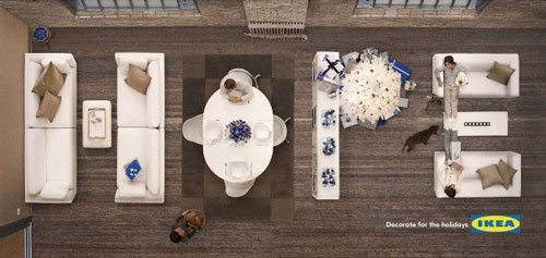 IKEA : Decorate for the holidays