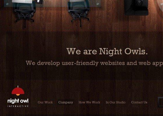 uleadesign 20个运用木质纹理设计的网站欣赏,很不错哦