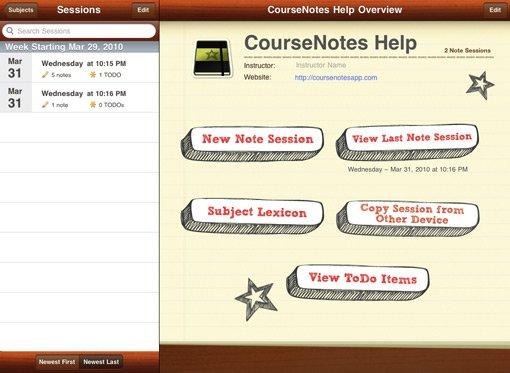 CourseNotes
