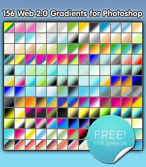 Web 2.0 Gradients