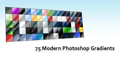 Modern Photoshop Gradients