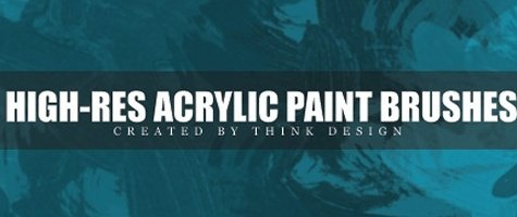 High Res Acrylic Brushes