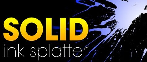 Solid Ink Splatter