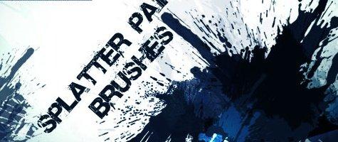 Splatter Paint Brushes