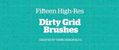 Dirty Grid Brushes