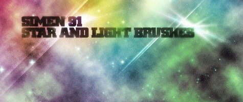 Star and Light Effect Brushes