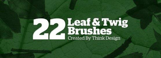 Leaf & Twig Brushes