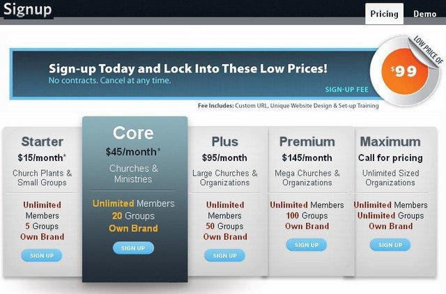 友好的价格列表页面设计-增强用户购买欲