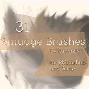 Smudge Brushes 31 Brushes