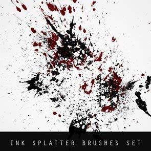 Ink Splatter 20 Brushes