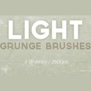 Light Grunge 5 Brushes