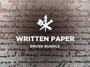 Written Paper 6 Brushes