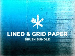 Lines & Grids Paper 6 Brushes