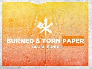 Burned & Torn 6 Brushes