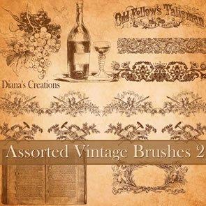 Assorted Vintage Brushes 2 8 Brushes