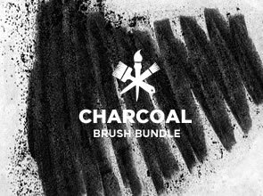 Charcoal 5 Brushes