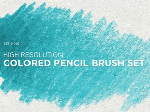 Colored Pencil 10 Brushes