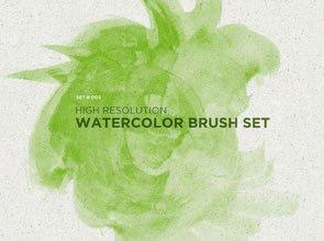 Watercolor Basics 8 Brushes