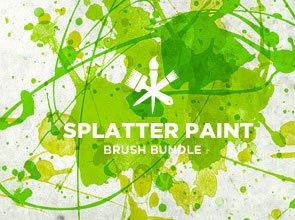 Paint Splatter 7 Brushes
