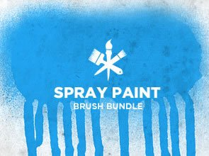 Spray Paint 6 Brushes