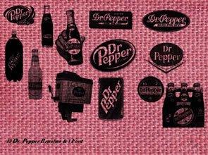 Dr. Pepper 16 Brushes
