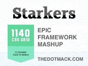 1140 Fluid Starkers WordPress Theme
