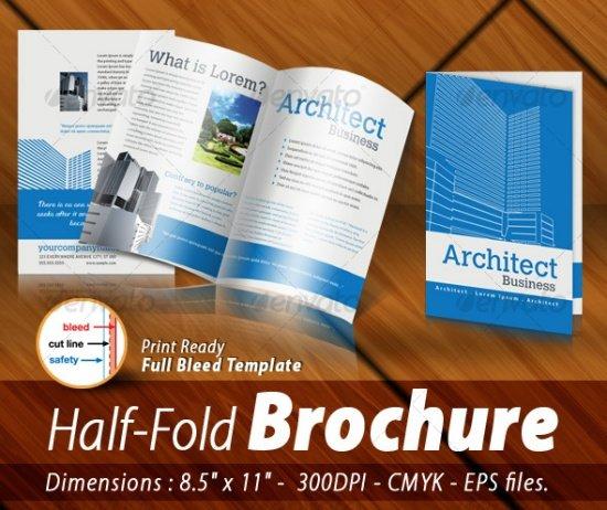 Half-Fold Brochure Panels