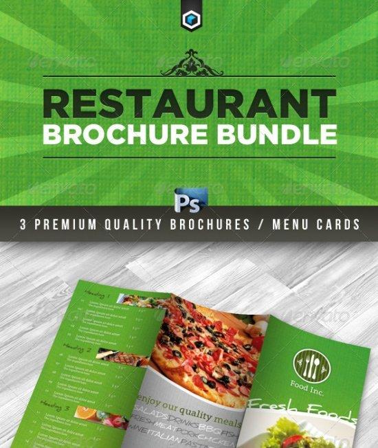 Premium Restaurant Brochure Bundle