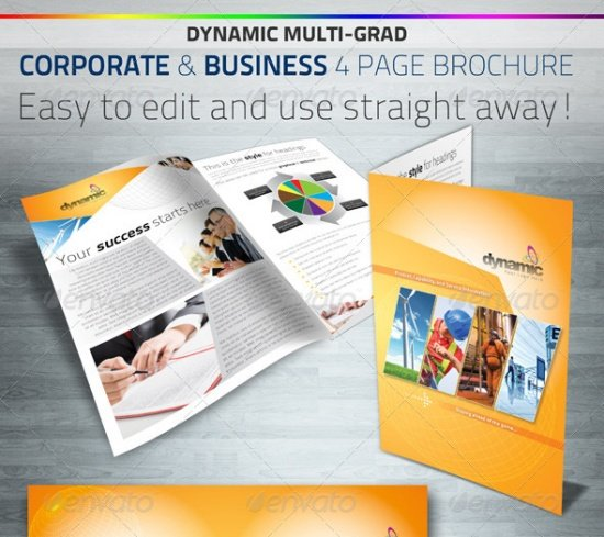Dynamic Corporate & Business Brochure