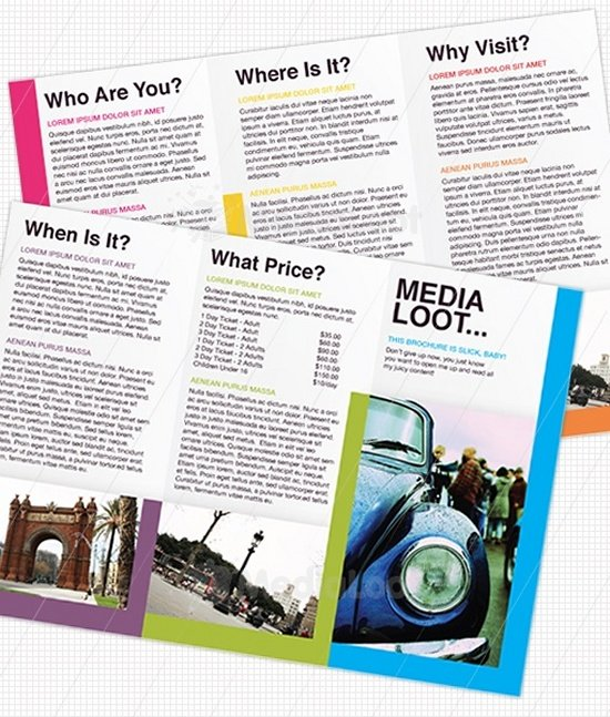 Tri-Fold Brochure Design Template
