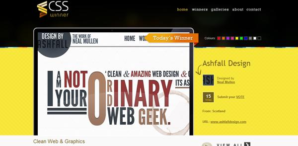25个优秀的CSS目录