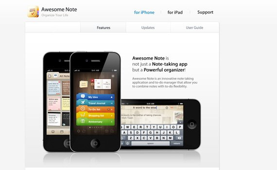 Awesome-note-iphone-app-web-design-inspiration