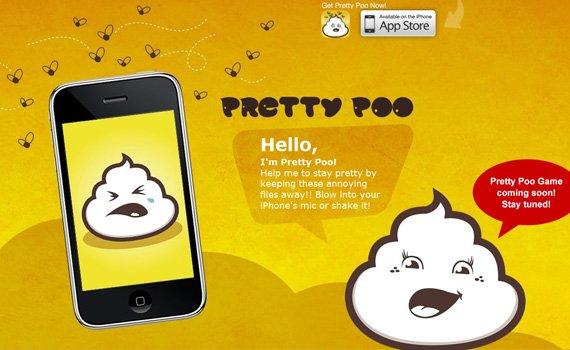 Pretty-poo-iphone-app-web-design-inspiration