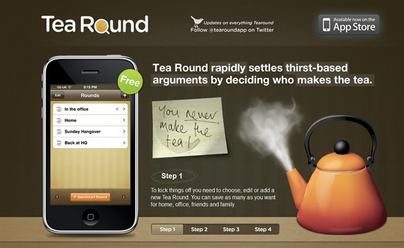 Tea-round-iphone-app-web-design-inspiration