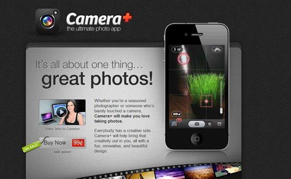 Cameraplus-iphone-app-web-design-inspiration