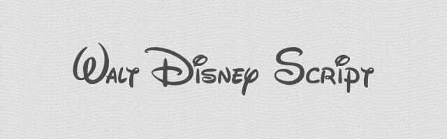 Walt Disney Script