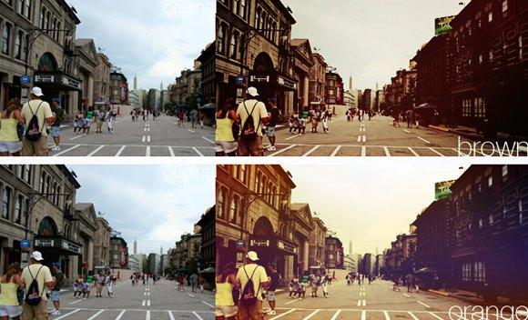 30个Photoshop图像照片处理PS动作