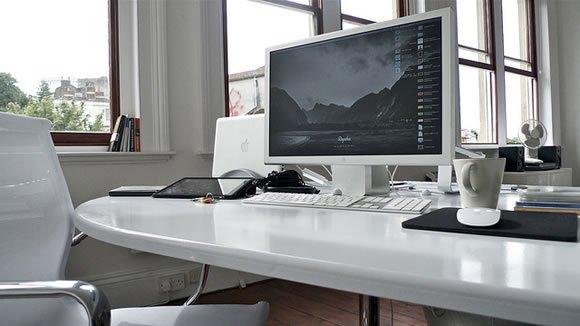 一些简约的办公室