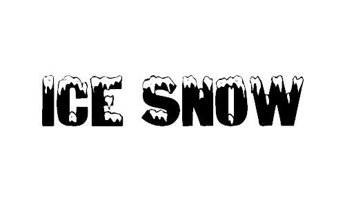 Ice & Snow font