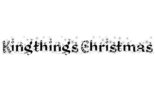 Kingthings Christmas font