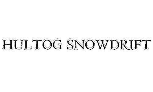 Hultog Snowdrift font