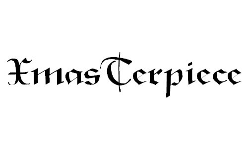 XmasTerpiece font