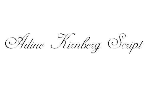 Adine Kirnberg Script font
