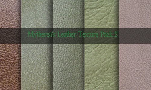 Cool Leather Texture Pack