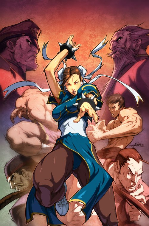 SF Legends Chun Li