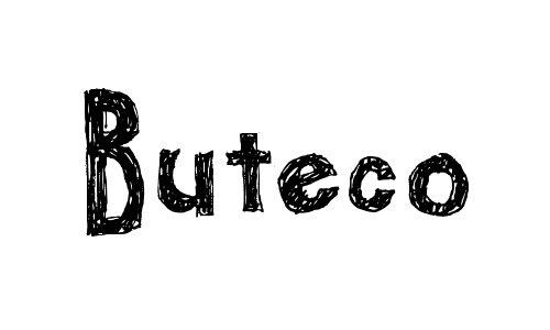 buteco font