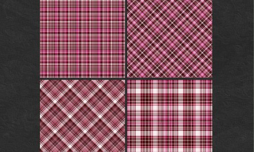 Berry Plaid Stock Pack