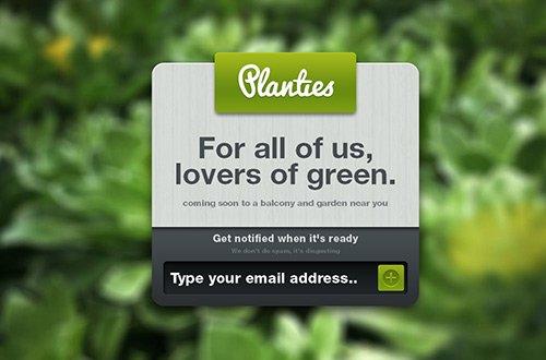 instantShift - Creative Coming Soon Page Designs