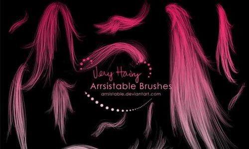 Very Hairy Brushes