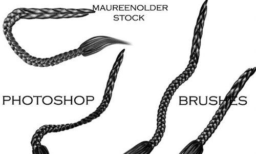 Stock Photoshop Brushes hair5